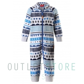 Reima Toddlers fleece overall Myytti Denim blue