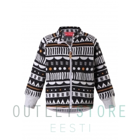 Reima fleese sweater ORNAMENT Black
