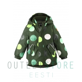 Reimatec winter jacket ANTAMOIS Dark green