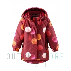 Reimatec winter jacket ASEME Lingonberry red