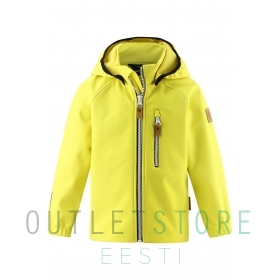 Reima softshell jacket VANTTI Lemon yellow