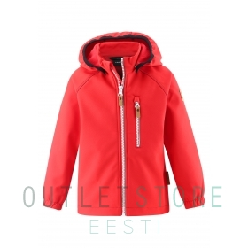 Reima softshell jacket VANTTI Tomato red