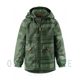 Reimatec light insulated jacket Finbo Dark green