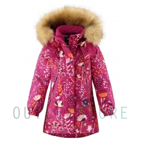 Reimatec winter jacket Muhvi Raspberry pink