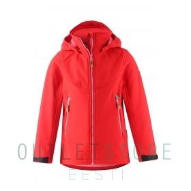 Reima softshell jacket VANDRA Tomato red