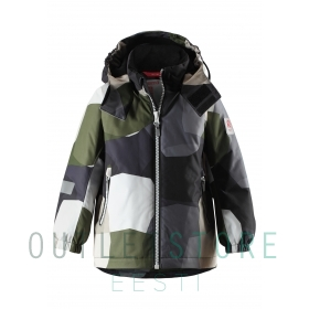 Reimatec® winter jacket MAUNU Khaki green