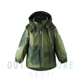 Reimatec® winter jacket MAUNU dark green
