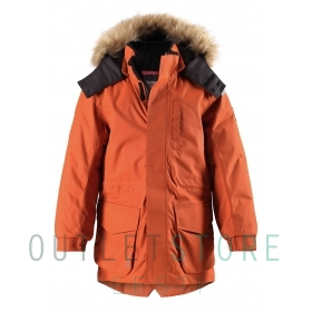 Reimatec® winter jacket NAAPURI Fox brown