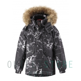 Reimatec winter jacket SKAIDI Black
