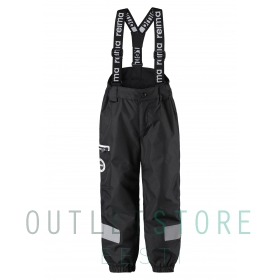 Reimatec light insulated spring pants Tiksi Black