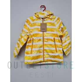 Reimatec spring jacket, Fasarby Orange yellow, size 104