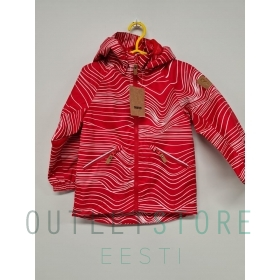 Reimatec spring jacket Finbo Tomato red, size 104