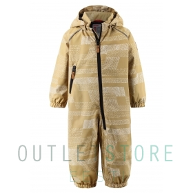 Reimatec light insulated overall Drobble Ginger root brown