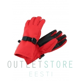 Reimatec winter gloves TARTU Tomato red