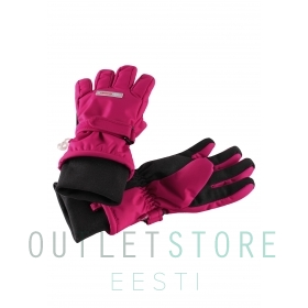Reimatec® waterproof winter gloves TARTU Cranberry pink