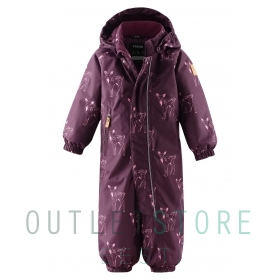 Reimatec winter overall Havinki Deep purple