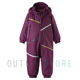 Reimatec winter overall Muotka Deep purple