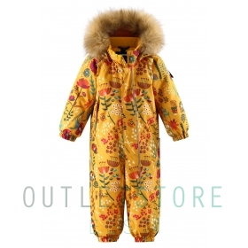 Reimatec winter overall LAPPI Warm yellow