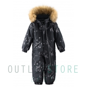 Reimatec winter overall LAPPI Black