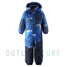 Reimatec winter overall Tornio Blue