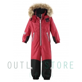 Reimatec® winter overall KROSSFJORDEN Lingonberry red