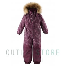 Reimatec winter overall BERGEN Deep purple