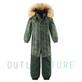 Reimatec winter overall BERGEN Dark green