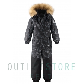 Reimatec winter overall BERGEN Black