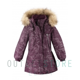 Reimatec winter jacket SILDA Deep purple
