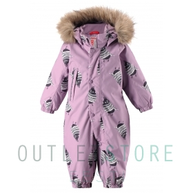 Reimatec® winter overall LOUNA Heather pink