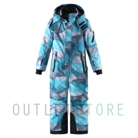 Reimatec winter overall REACH Dark sea blue