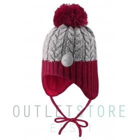 Reima winter beanie PAKKAS Lingonberry red