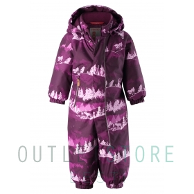 Reimatec® winter overall PUHURI Deep purple