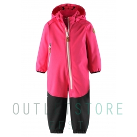Reima softshell overall MJOSA Candy pink