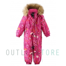 Reimatec winter overall Lappi Raspberry pink, size 86 cm