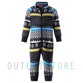 Reima Toddlers fleece overall Myytti Balck
