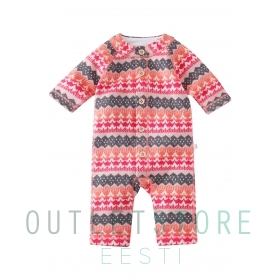 Reima wool overall Lyhde Strawberry red, size 62/68