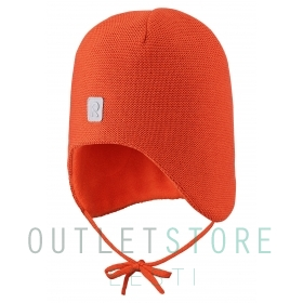 Reima winter hat Hopea Foxy orange, size 50 cm