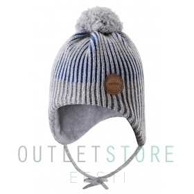 Reima reflective winter beanie WEFT Blue