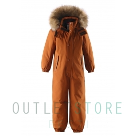 Reimatec® winter overall STAVANGER Cinnamon brown