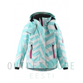 Reimatec winter jacket Roxana Light turquoise, size 104 cm