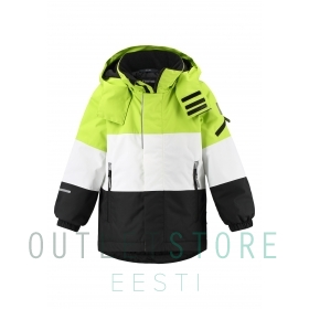 Reimatec winter jacket Mountains Lime green, size 104 cm