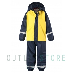 Reima rain outfit with fleece lining Joki Yellow