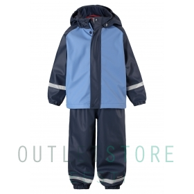 Reima rain outfit with fleece lining Joki Denim blue