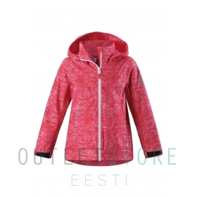 Reima softshell jacket APRIL Bright red