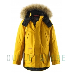 Reimatec®+ down jacket SERKKU Dark yellow
