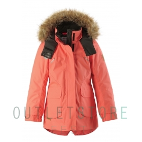 Reimatec® winter jacket SISARUS Bright salmon