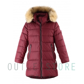 Reima winter coat Lunta Lingonberry red, size 128 cm