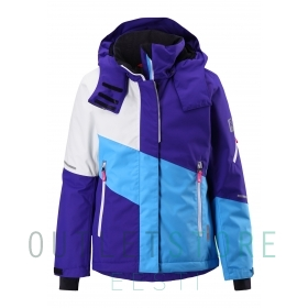 Reimatec® winter jacket, Seal Violet,140 cm