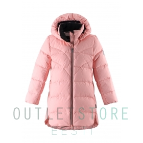 Reima Down jacket Ahde Powder pink, size 128 cm